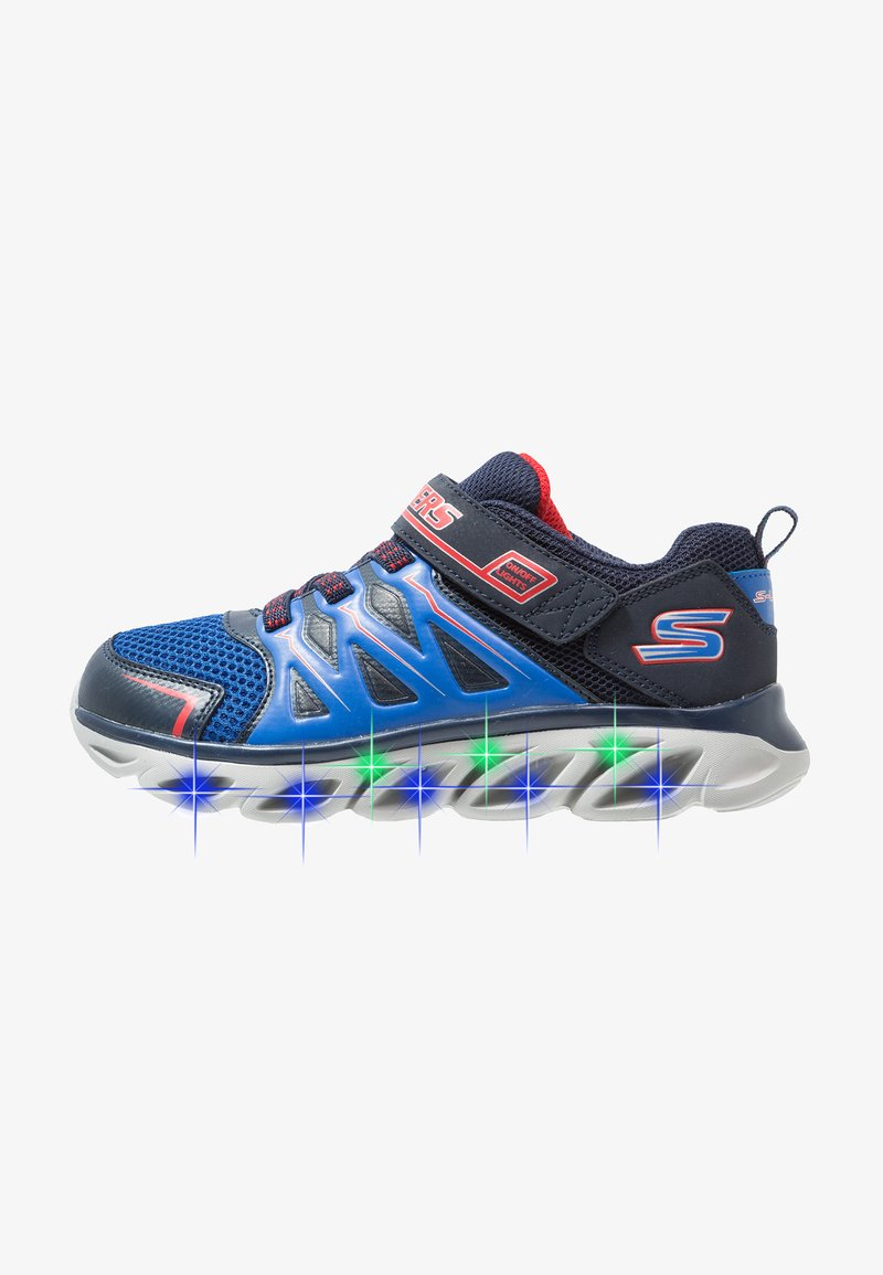 Skechers - HYPNO-FLASH 3.0 - Baskets basses - navy/red