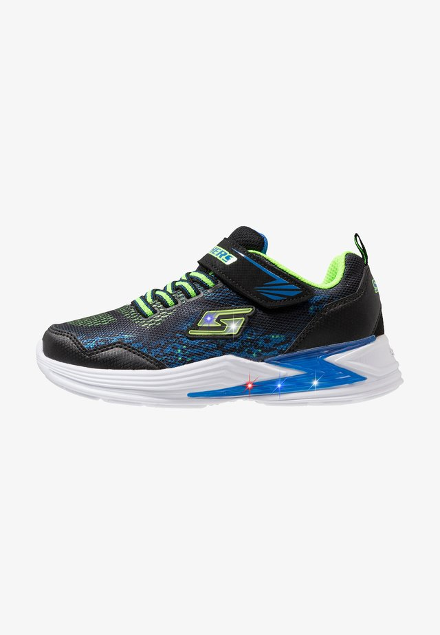 ERUPTERS III - Joggesko - black/blue/lime