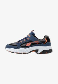 Skechers - STAMINA - Sneakers - navy/black/charcoal/orange - 1