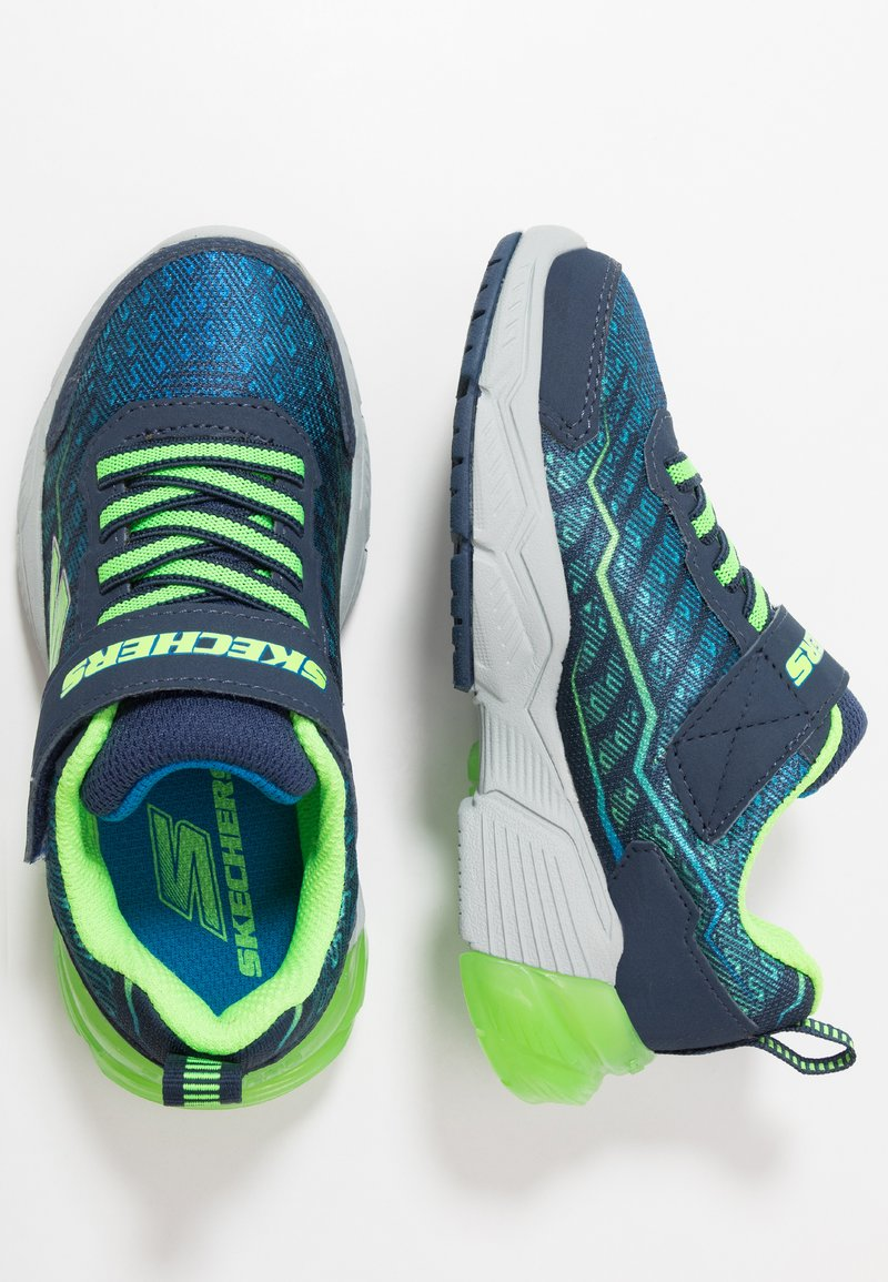 Skechers - THERMOFLUX 2.0 - Trainers - navy/lime/blue