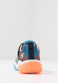 Skechers - RAPID FLASH 2.0 - Tenisky - navy/orange/blue - 3