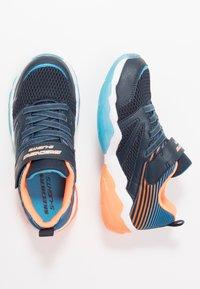 Skechers - RAPID FLASH 2.0 - Tenisky - navy/orange/blue - 1