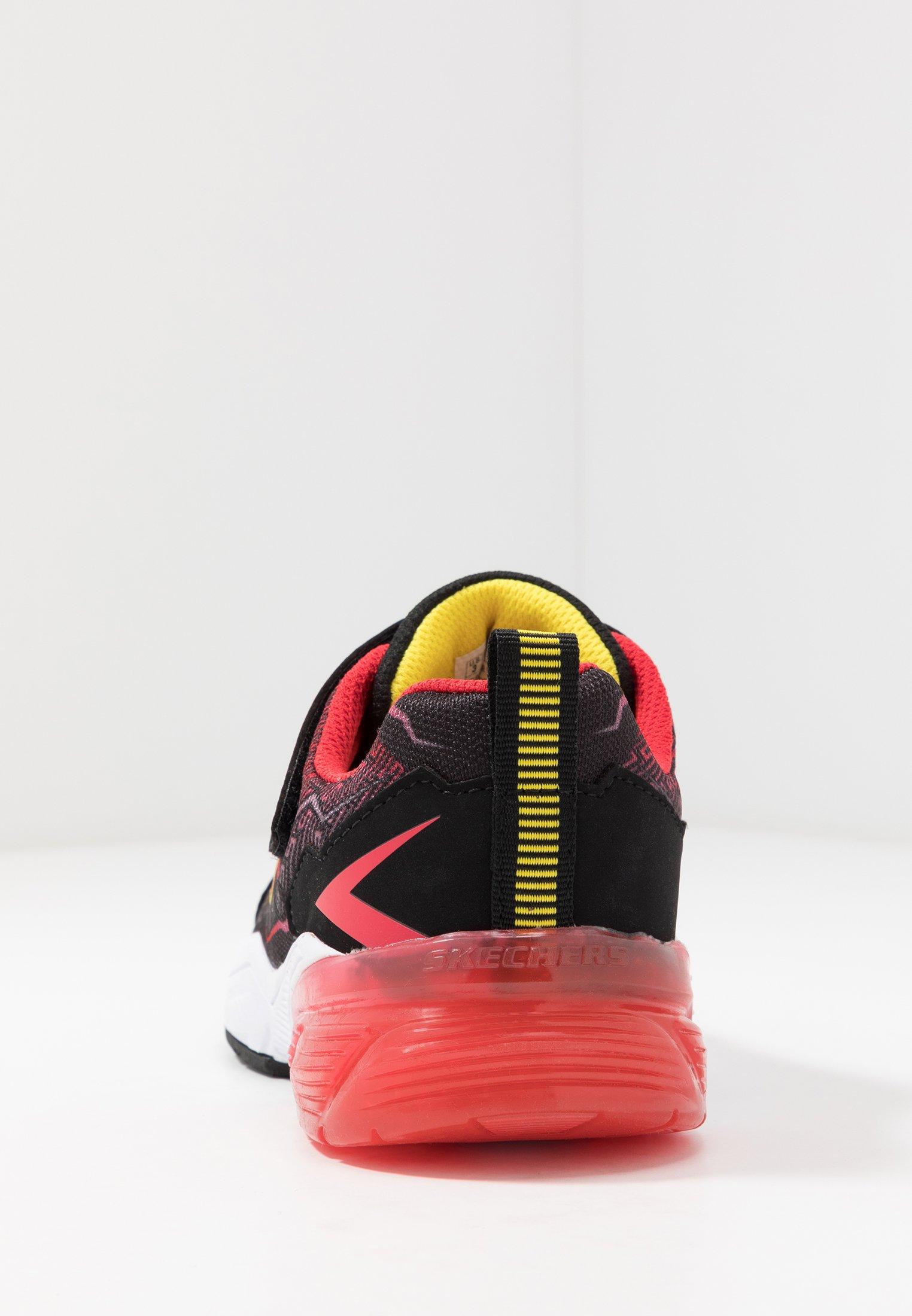 Skechers THERMOFLUX 2.0 Sneaker low blackredlime