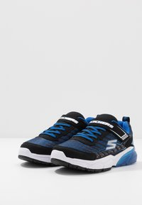 Skechers - THERMOFLUX 2.0 - Tenisky - black/royal/silver - 3