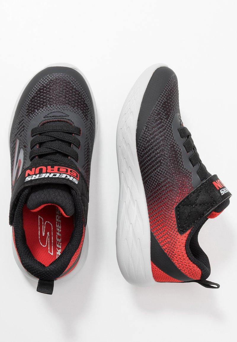 Skechers - GO RUN 600 - Sneaker low - black/red/charcoal