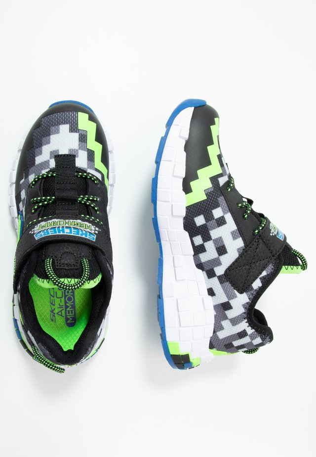 MEGA-CRAFT - Zapatillas - black/blue/lime