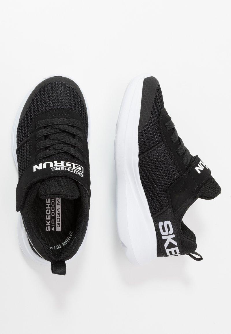 Skechers - GO RUN FAST - Tenisky - black/white