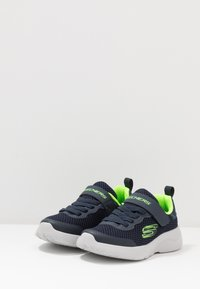 Skechers - DYNAMIGHT 2.0 - Trainers - navy/lime - 3