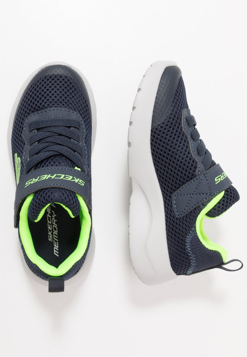 Skechers - DYNAMIGHT 2.0 - Trainers - navy/lime