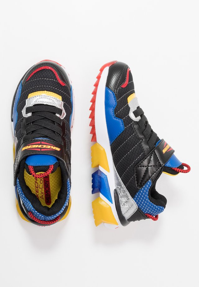 SKECH-JETZ - Sneakers laag - black/royal/multicolor