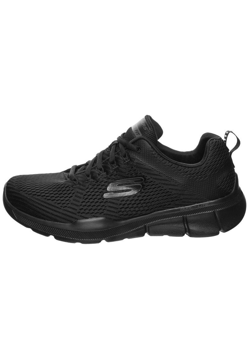 Skechers Sport - HERREN SNEAKER - Sneakers basse - black/black