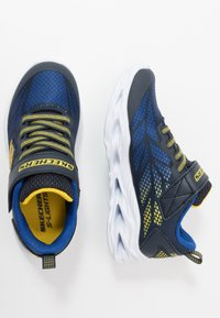 Skechers - VORTEX FLASH - Tenisky - navy/yellow/royal - 1