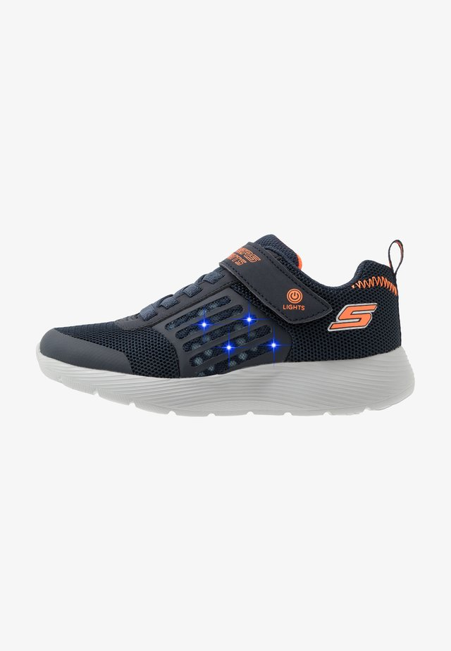 DYNA-LIGHTS - Sneaker low - navy/orange