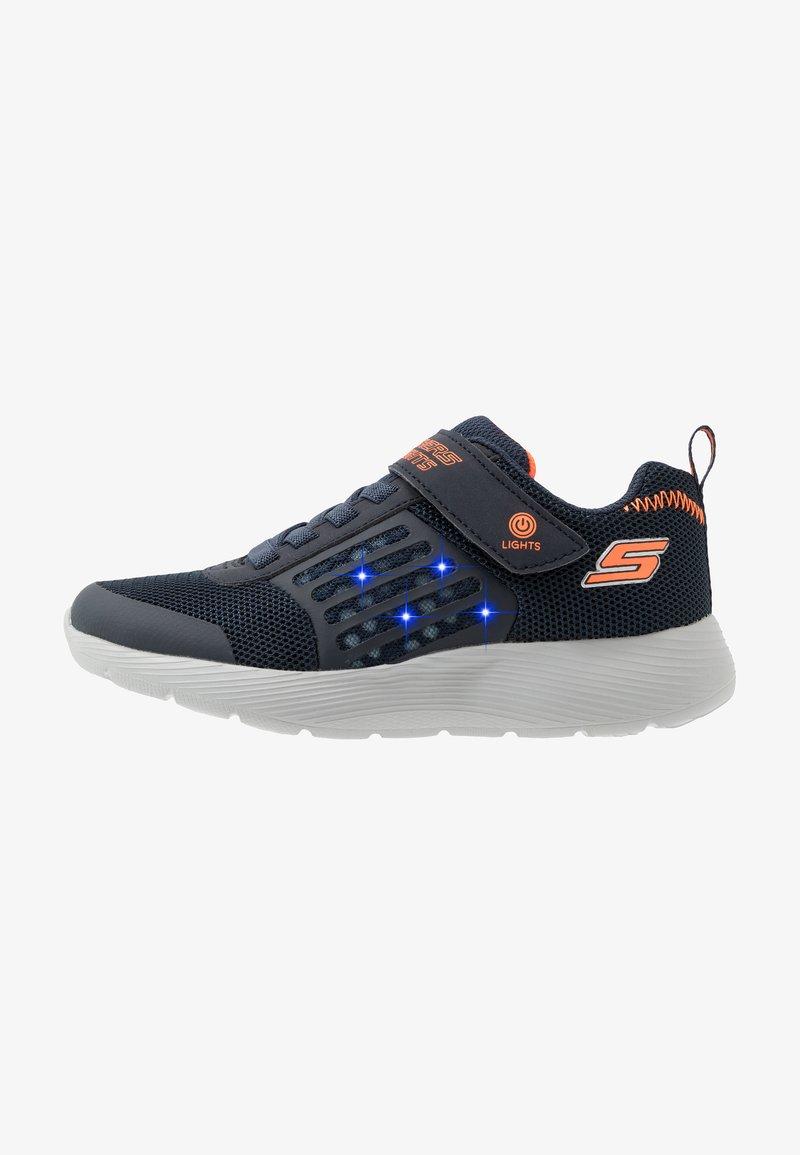 Skechers - DYNA-LIGHTS - Tenisky - navy/orange