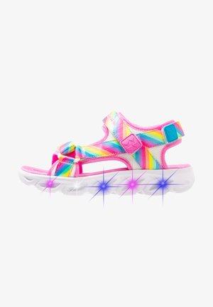 STRIPE - Sandaalit nilkkaremmillä - multicolor