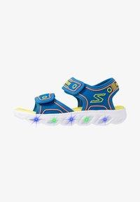 Skechers - HYPNO-SPLASH - Walking sandals - blue/lime/orange - 1