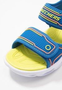 Skechers - HYPNO-SPLASH - Walking sandals - blue/lime/orange - 2