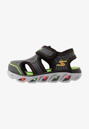 HYPNO SPLASH ZOTEX - Walking sandals - charcoal/black/lime