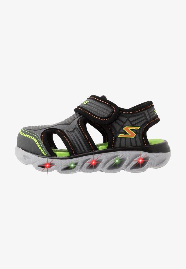 HYPNO SPLASH ZOTEX - Trekkingsandaler - charcoal/black/lime