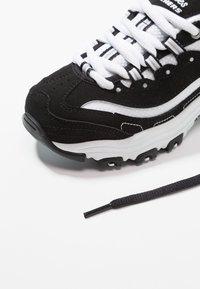 Skechers - D'LITES - Tenisky - black/white - 5