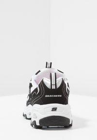 Skechers - D'LITES - Tenisky - black/white - 3