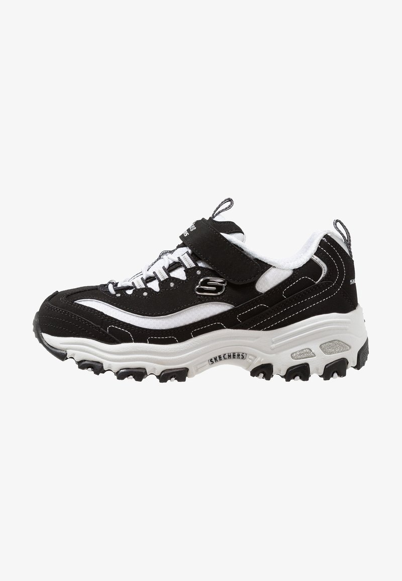 Skechers - D'LITES - Trainers - black/white