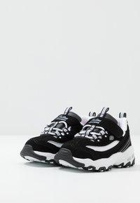 Skechers - D'LITES - Trainers - black/white - 3