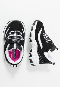 Skechers - D'LITES - Trainers - black/white - 0