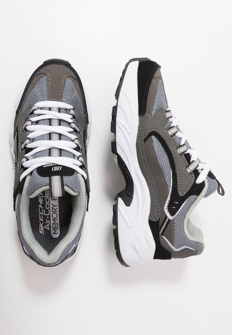 Skechers - STAMINA - Trainers - charcoal/black