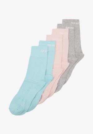 BASIC SOCKS VENTILATION 6 PACK - Ponožky - pastel turquoise