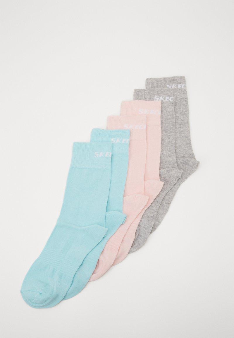 Skechers - BASIC SOCKS VENTILATION 6 PACK - Socks - pastel turquoise