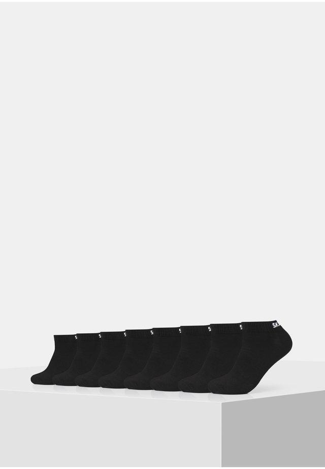 BASIC SNEAKER VENTILATION 8 PACK - Socks - black