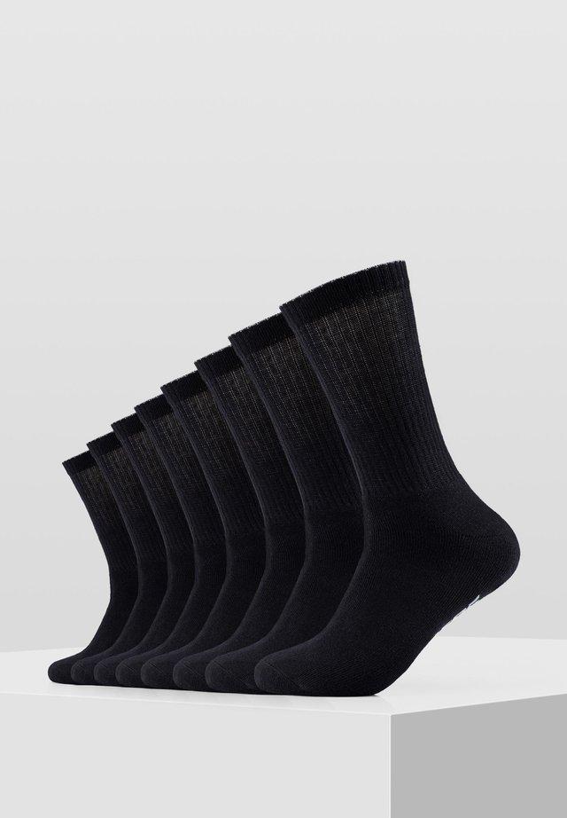 8 PACK - Socks - black