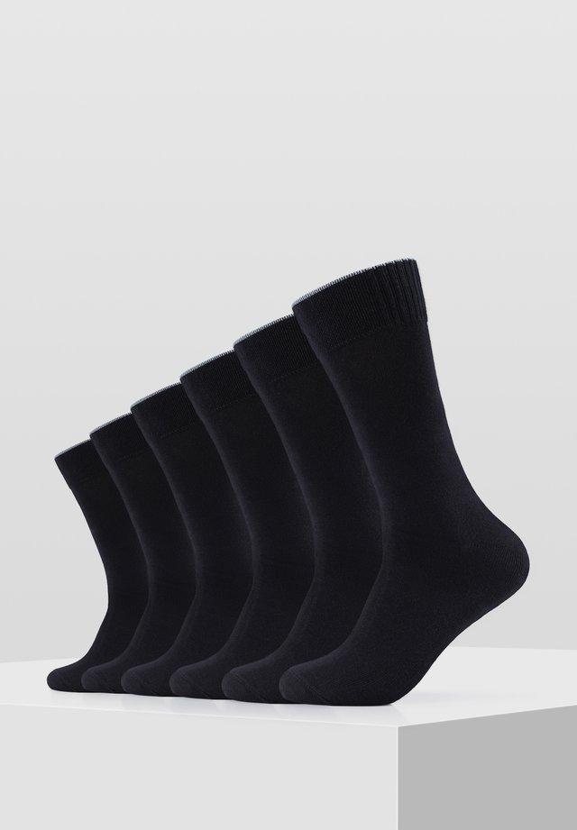 6PACK - Socks - black