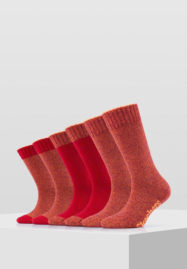 6 PACK - Socks - orange