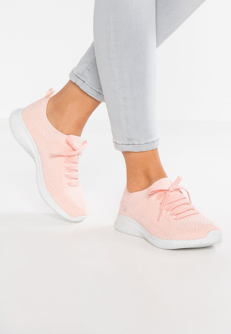 Skechers Sport - ULTRA FLEX - Nazouvací boty - light pink /white