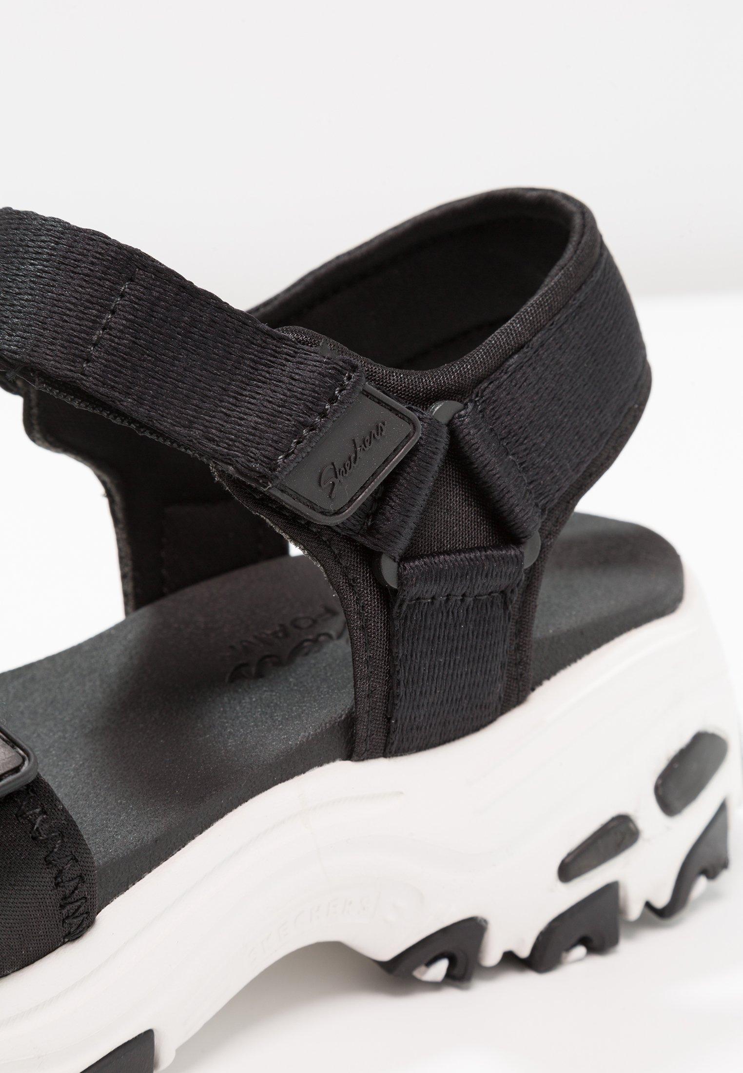 Skechers Sport D'lites - Vandringssandaler Black