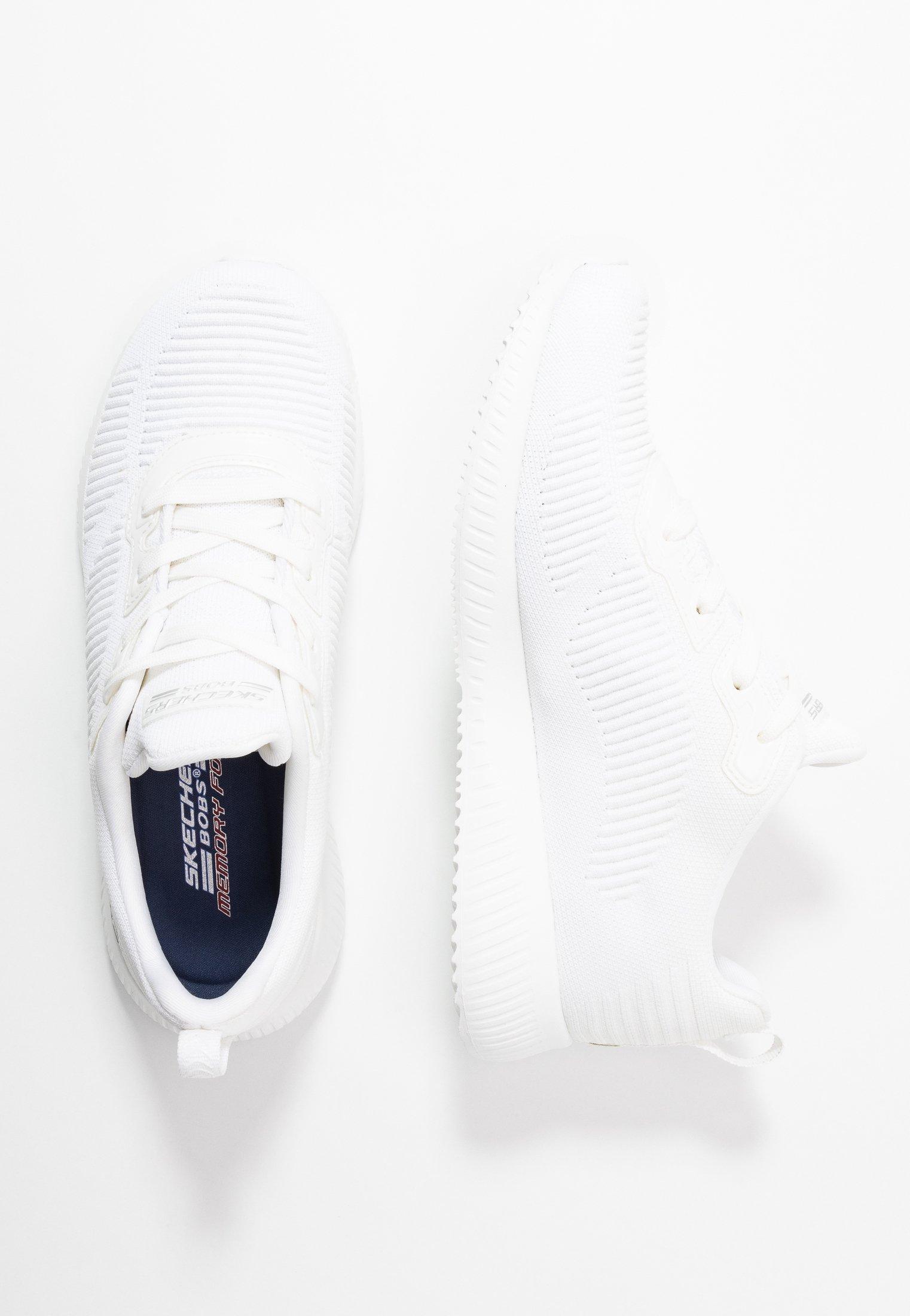 Skechers Sport BOBS SQUAD - Sneakers basse - white