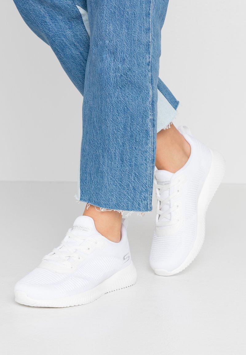 Skechers Sport - BOBS SQUAD - Zapatillas - white