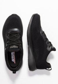 Skechers Sport - BOBS SQUAD - Zapatillas - black - 3