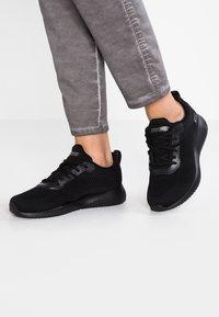 Skechers Sport - BOBS SQUAD - Zapatillas - black - 0