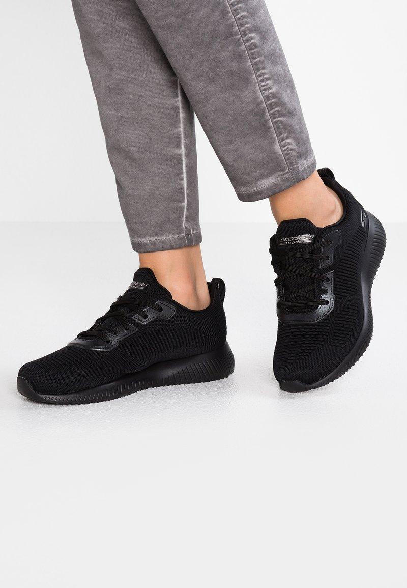 Skechers Sport - BOBS SQUAD - Tenisky - black