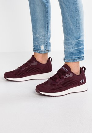 BOBS SQUAD - Trainers - burgundy sparkle