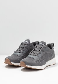 Skechers Sport - BOBS SQUAD - Sneakers laag - gray/silver - 4