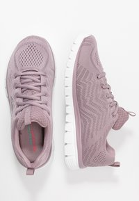 Skechers Sport - GRACEFUL - Sneakers laag - lavender - 3