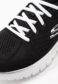 Skechers Sport - GRACEFUL - Sneaker low - black/white - 2