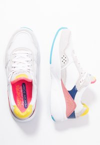 Skechers Sport - MERIDIAN - Trainers - white/offwhite/multicolor - 3