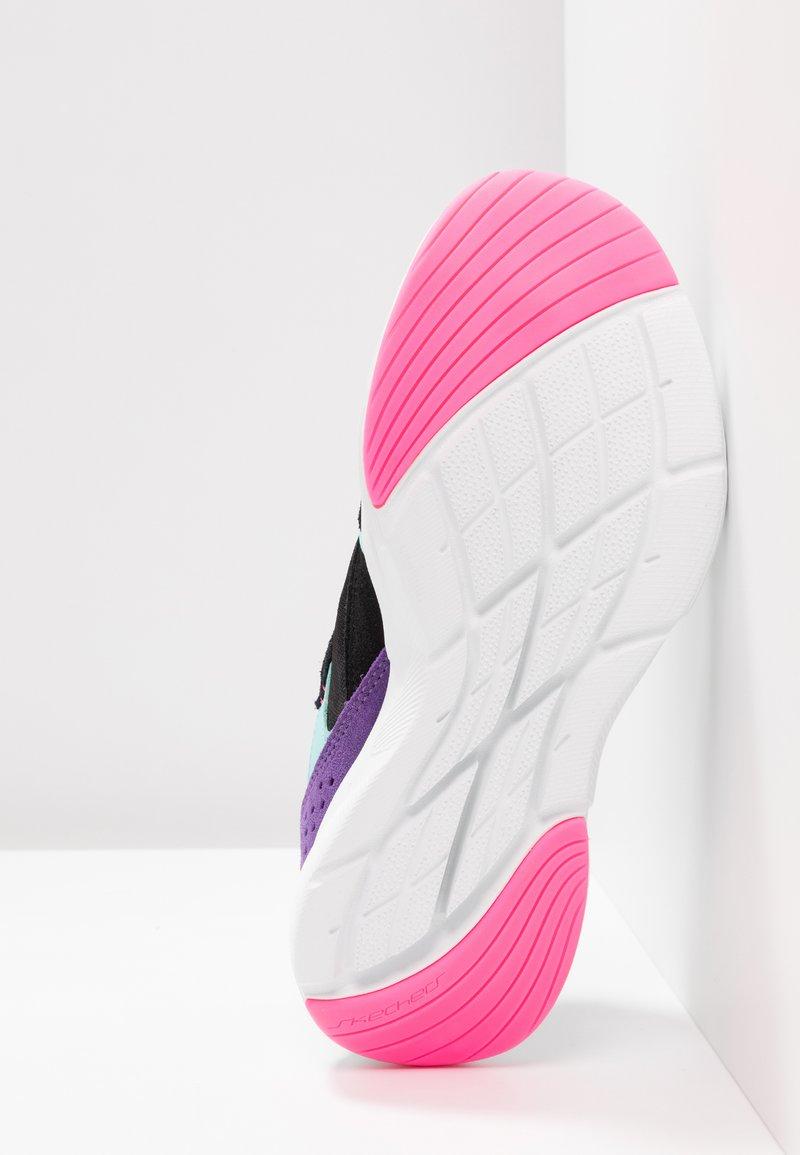 multicolor Sport Basses MeridianBaskets Black Skechers mONnwPy80v