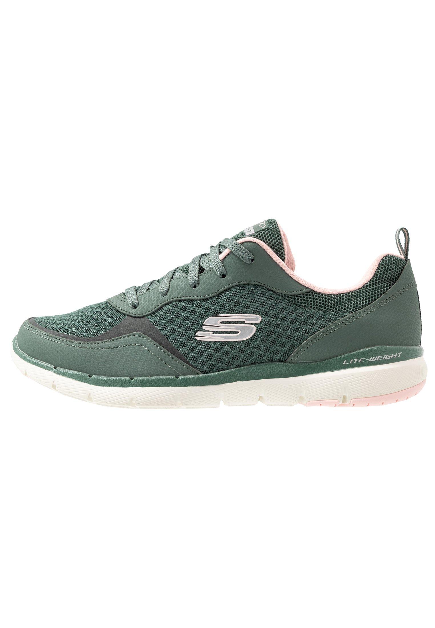 FLEX APPEAL Sneakers olivepink