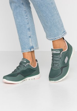 FLEX APPEAL  - Sneakers - olive/pink